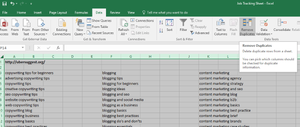 How to remove duplicates quickly and easily in Excel-3