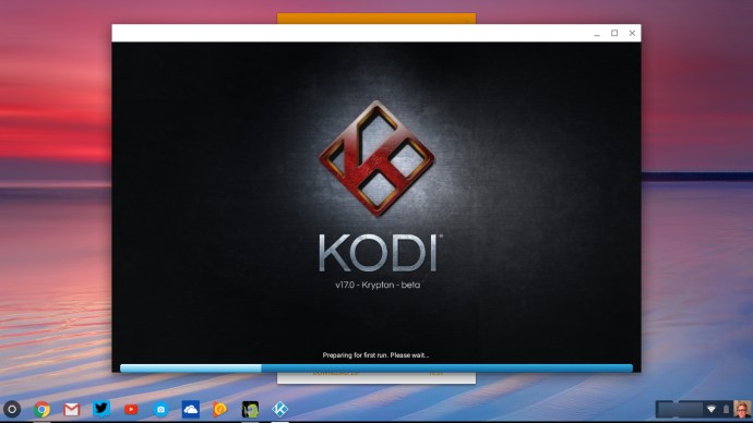 Kodi on Chromebook
