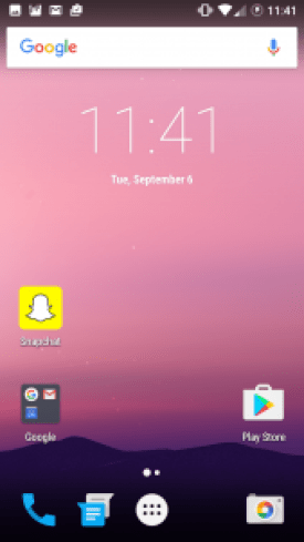 CM13 Android N home