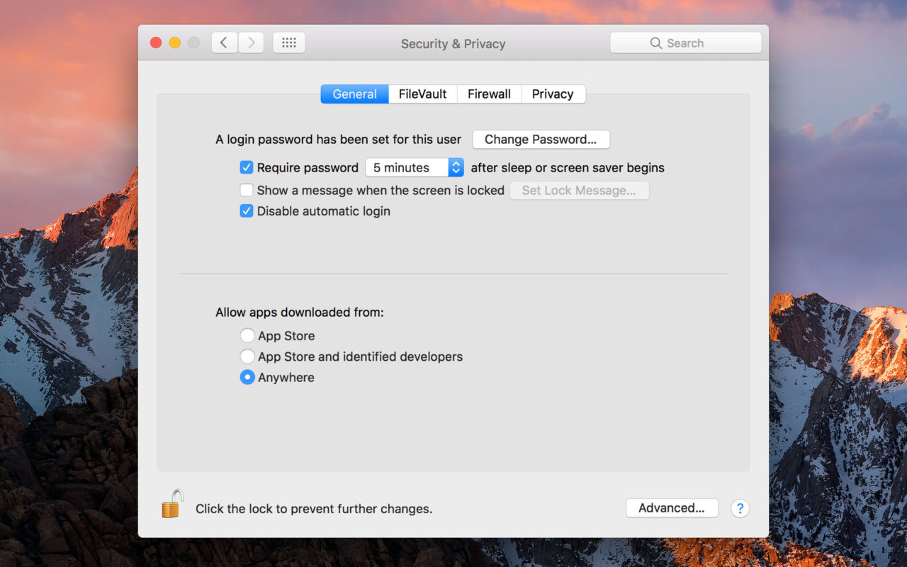 How to Disable Gatekeeper and Allow Apps From Anywhere in macOS Sierra
