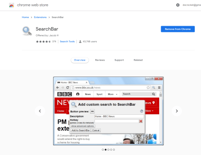 How to Add a New Search Box to Google Chrome