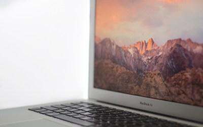 Comment réinitialiser l'usine à votre MacBook Air