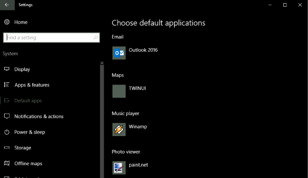How to associate file types with programs in Windows 10-2