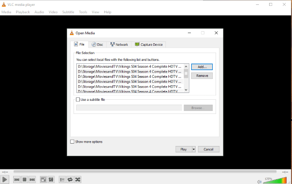 How to batch convert media files in VLC-2