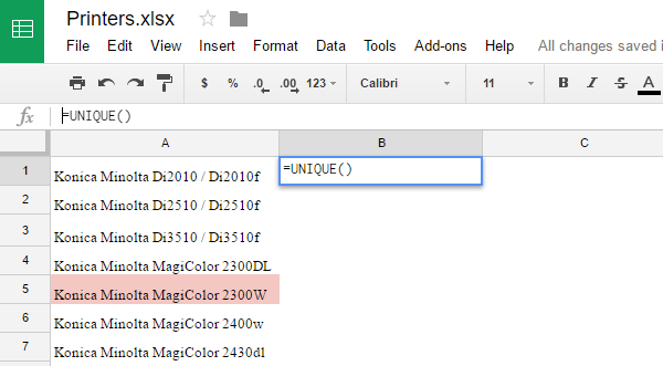 google sheets conditional formatting duplicate values seatle