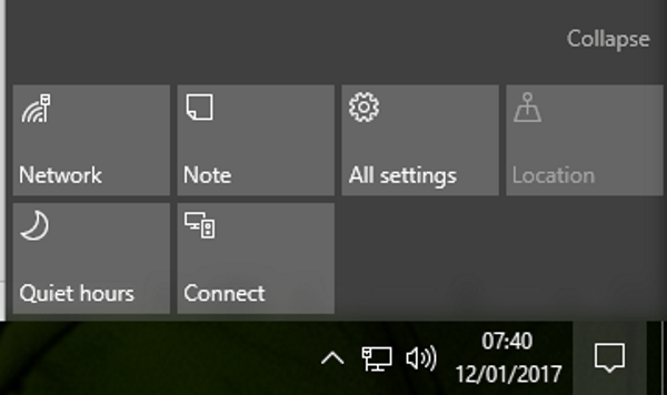 How to open and manage action center in Windows 10-2