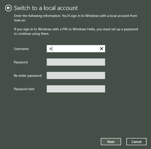 How to remove your password in Windows 10-3