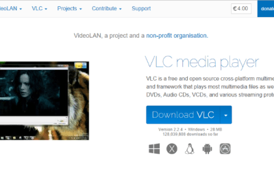 Play. Avi videos with vlc media player.