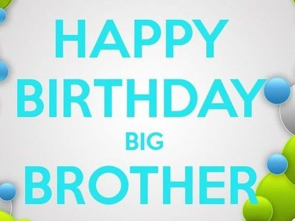 Amazing Happy Birthday Quotes And Wishes For Brother With Images Personalised Birthday Cards Bromeletsinfo
