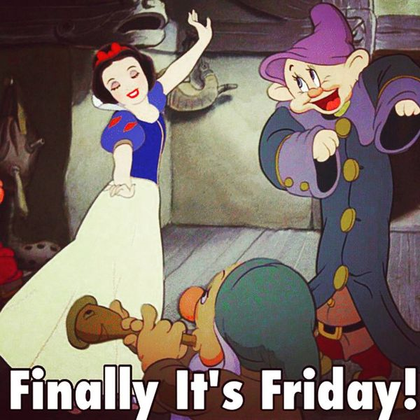 Finally its friday