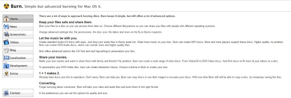 How to burn a CD or DVD on a Mac2