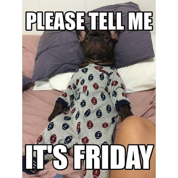 Скажите, пожалуйста, сейчас пятница