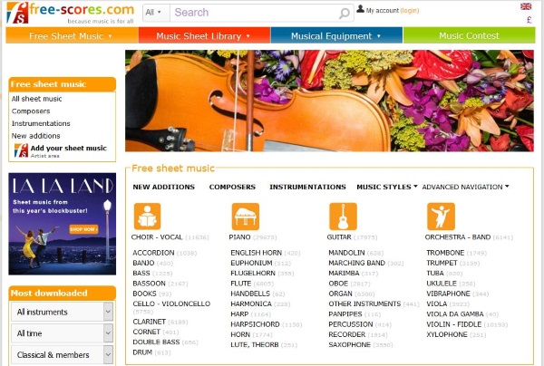 Where to download free and legal piano sheet music4