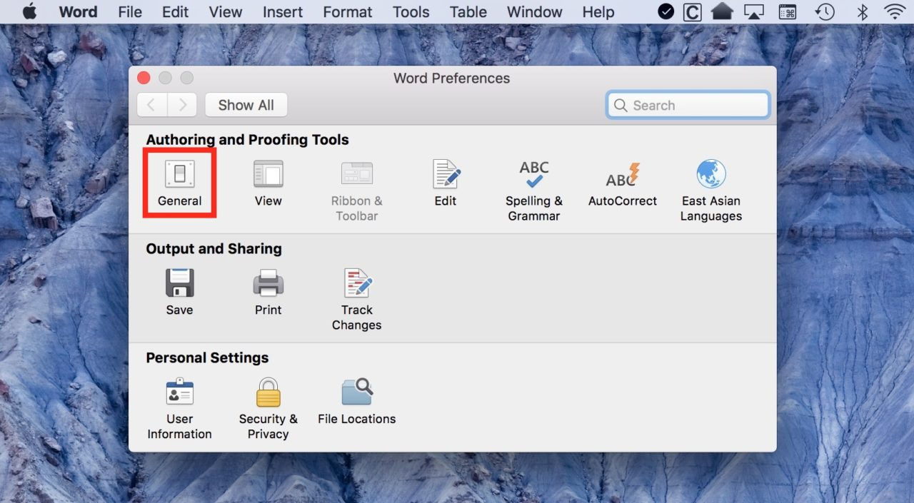 How to Configure Microsoft Word for Mac to Launch with a New