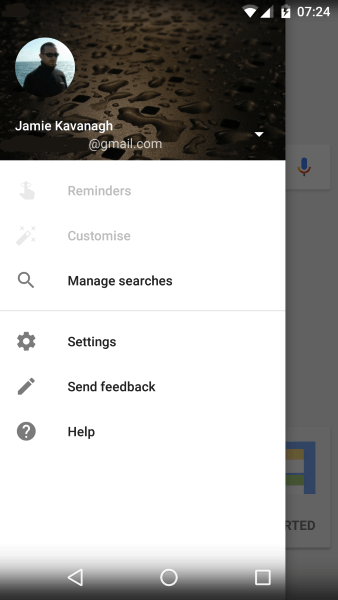 How to turn off Ok Google on an Android device3