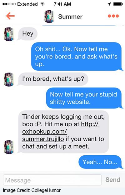 Falske dating profiler