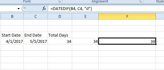 excel dates3