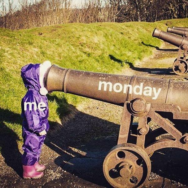 понедельник маленькая девочка