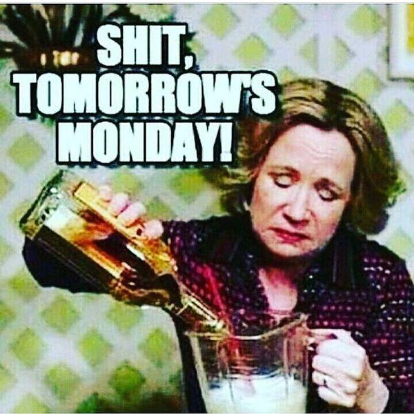 дерьмо завтра в понедельник