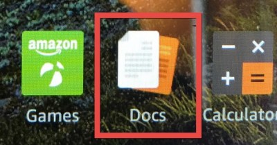 Kindle Fire Docs