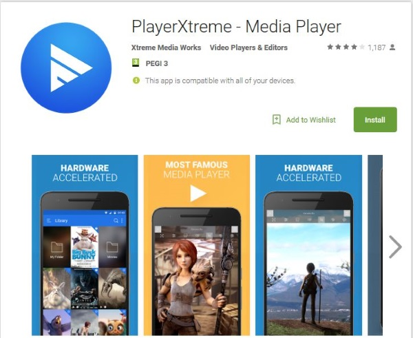 Five excellent movie player apps for Android3