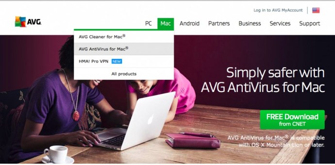 avg antivirus account