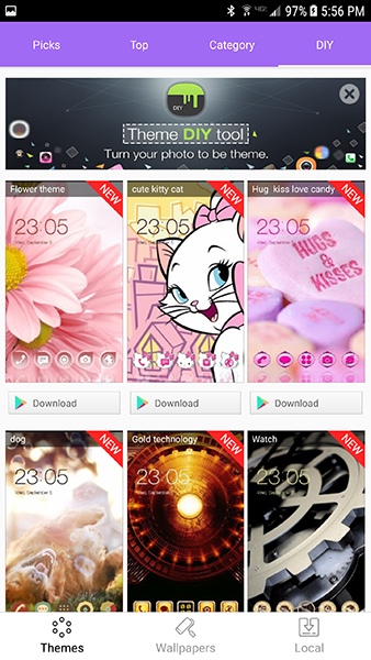 A Guide to Using the Best Themes on Android