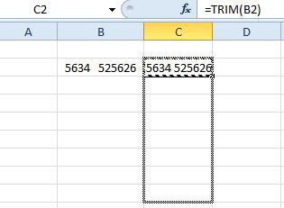 excel spacing2