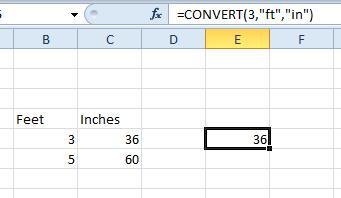inch3 converter