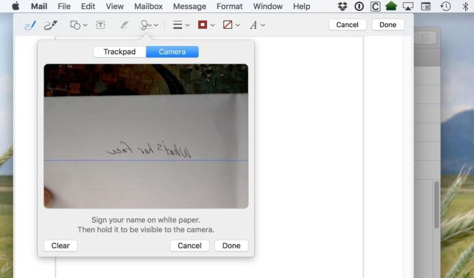 scan signature mac