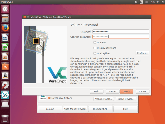 VeraCrypt Password