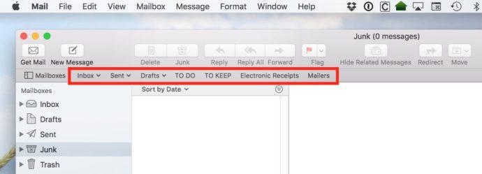 favorite mailboxes mac
