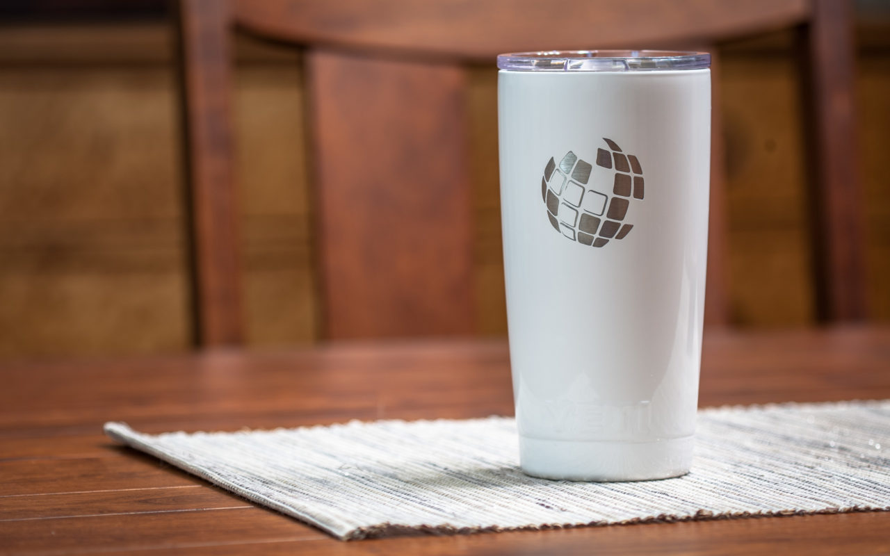 Custom Engraved Yeti Jug and DuraCoat Tumblers from Perfect Etch