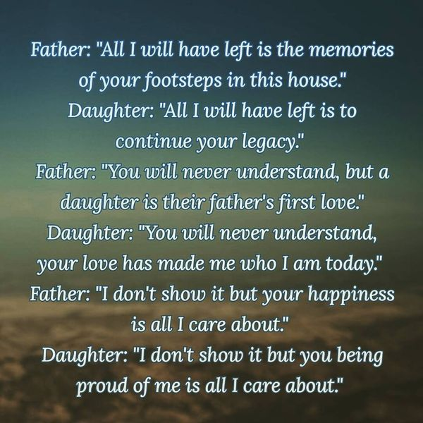 Sincere Father Daughter Quotes