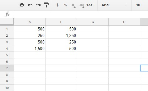 how to apply formulas to entire columns in google sheets