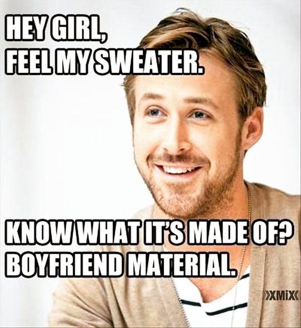 Hey Girl, Feel My Sweater...
