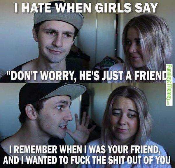 Я ненавижу, когда девушки говорят