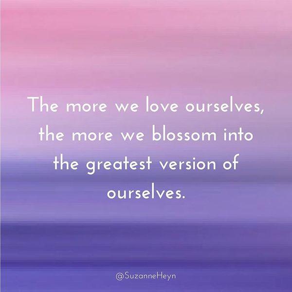 чем больше мы любим себя