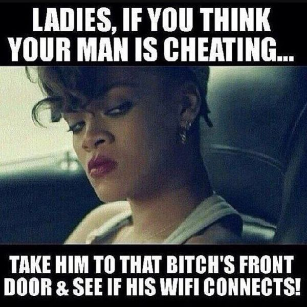 Ladies, If You Think Your Man Is Cheating...