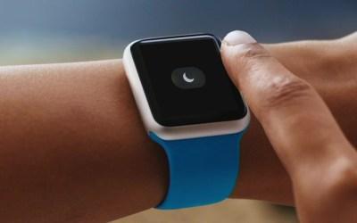 apple watch do not disturb