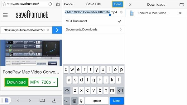 How to download save youtube videos to your iphone app to download youtube videos to your device go ahead but the following steps will be about how to save a youtube video to your device by using the ccuart Choice Image