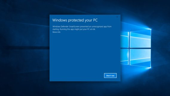 Windows Defender SmartScreen: How to Deal With 'Windows