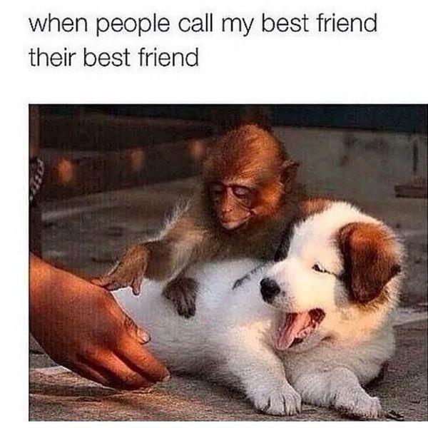 When people call my best friend their best friend