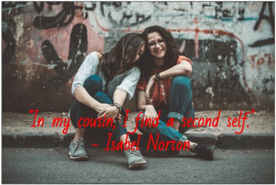50 Instagram Captions For Cousins