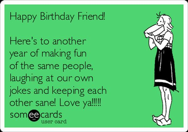 happy birthday best friend meme