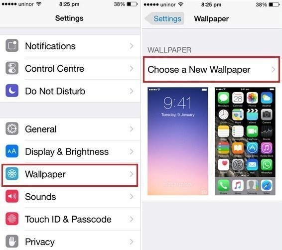 How To Change The Lock Screen On IPhone 6S