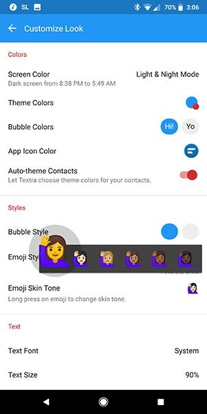 Wechat color change bubble What Does