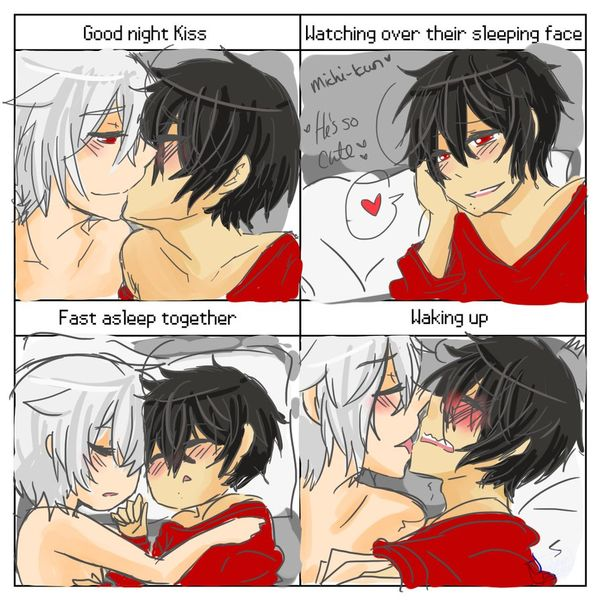 Glorious couples sleeping meme