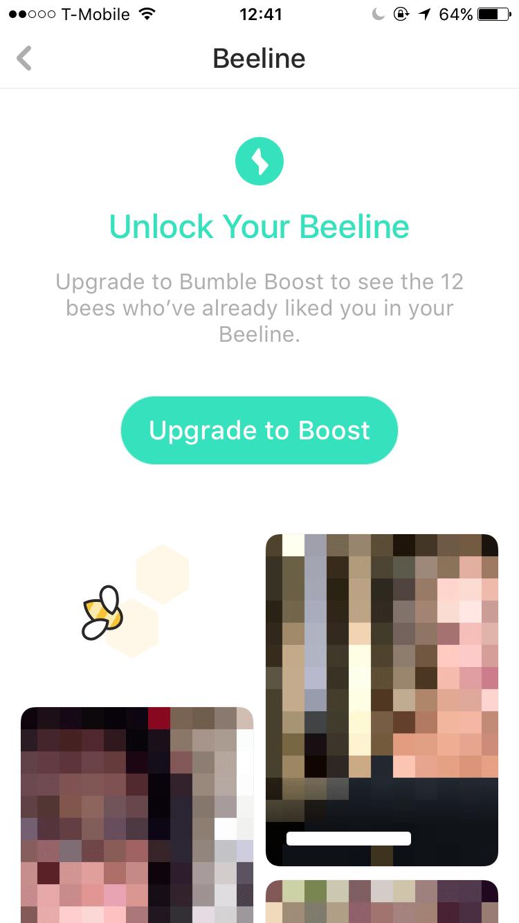 The beeline bumble