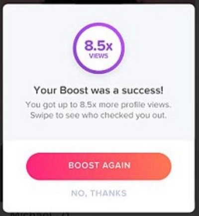tinder boost for free